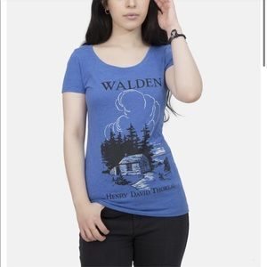 NWT Out of Print Walden Scoop T-Shirt size medium